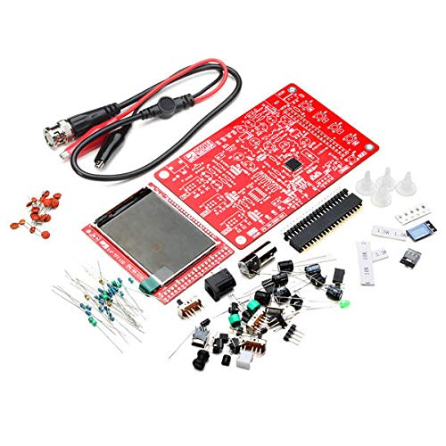 Lanrui Kit De Osciloscopio Digital DIY Kits De Aprendizaje Electrónico
