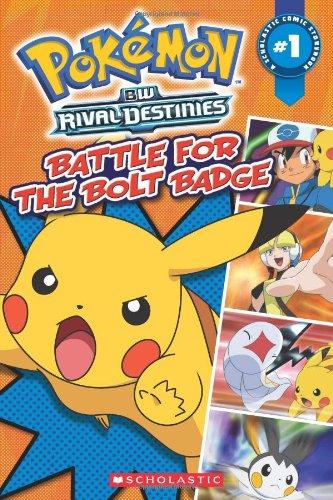 Pokemon: Comic Reader #1:Battle for the Bolt Badge