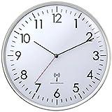 TFA Dostmann 60.3514 - Orologio da Parete Radiocontrollato, Bianco