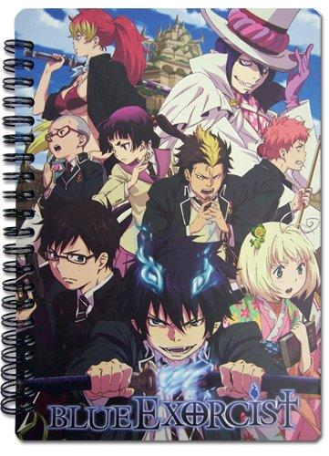 Great Eastern Entertainment Blue Exorcist Keyart Notebook