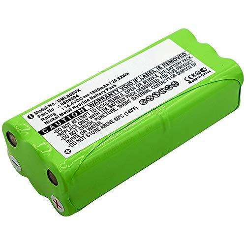 subtel® Premium Akku (14.4V, 1800mAh, NiMH) kompatibel mit Dirt Devil Fusion M611 Puck M610 Spider M607 Spider M612-0606004, R1-L051B Ersatzakku Batterie Werkzeugakku