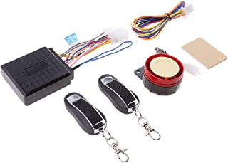 2 Way Motorcycle Alarm 2 Big LCD Remote Engine Motorbike Start Anti-theft Security System Scooter