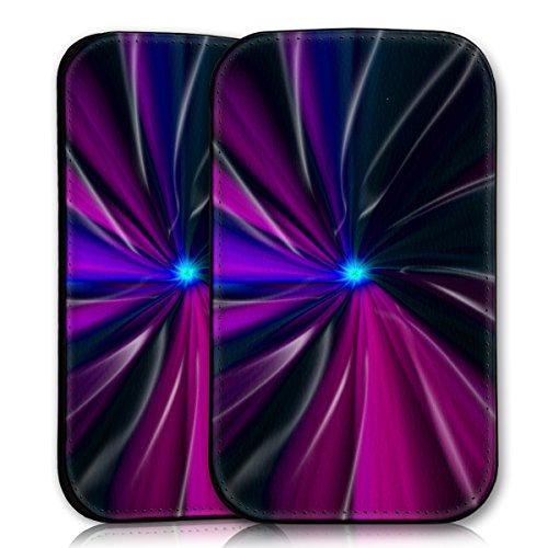 wicostar Sleeve Style Handy Tasche Hülle Schutz Hülle Schale Motiv Etui für Wiko Rainbow Jam - Sleeve UBS11 Design9