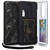 TORU CX PRO LG G7 Wallet Case Pattern with Hidden Credit Card...