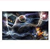 YOBAIH Puzzle de 1000 Adultos Rompecabezas de Sala de Policía del Planeta Cósmico educativos para niños de Ejercicio Cerebral