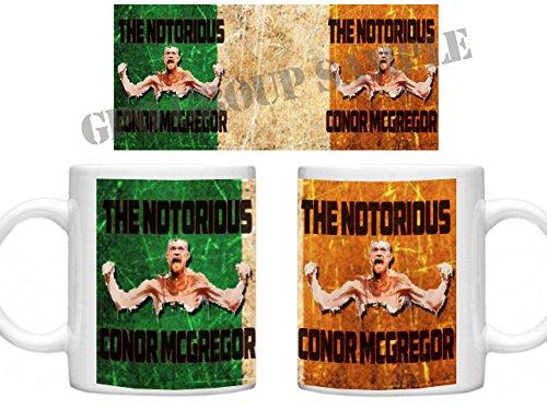Conor McGregor, Conor McGregor Tasse, GPO Group Exclsuive Design, Conor McGregor, UFC, The Notorious Tasse, Mikrowelle Spülmaschinenfest 313ml Tasse