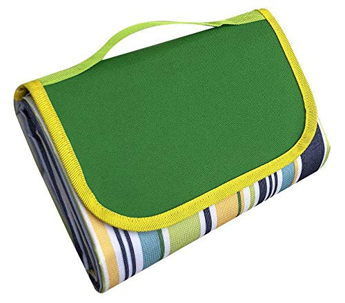 LAOBANNIANG Picnic Blanket Extra Large Sand Proof and Best Waterproof Portable Beach Mat