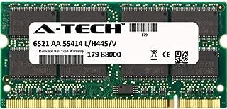 256MB Stick for HP-Compaq Evo Notebook Series N1000c N1000v N1005v N1015v N1020v N1050v N610c N620c N800 N800c N800w nc4000 nc4010. SO-DIMM DDR Non-ECC PC2700 333MHz RAM Memory. Genuine A-Tech Brand.