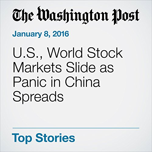 U.S., World Stock Markets Slide as Panic in China Spreads audiobook cover art
