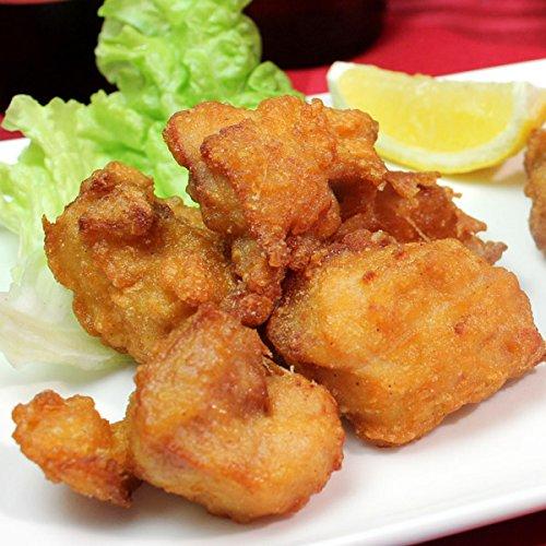 水郷のとりやさん 国産 鶏肉 にんにく醤油 むね肉の唐揚げ 400g[生・未調理 水郷どり]