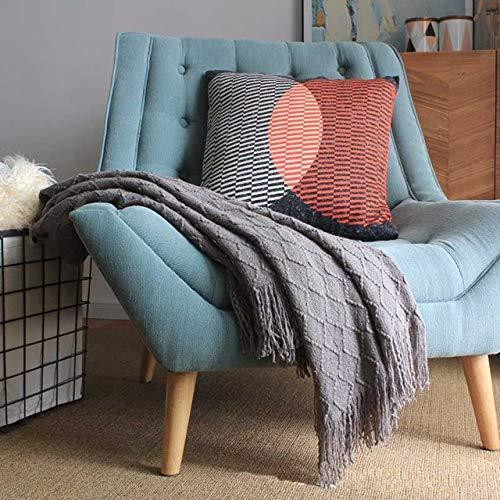 RAQ enkele stoel gebreide bank deken fauteuils sprei beddengoed voor ligstoel Siesta Cover 127x170cm
