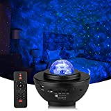 Star Projector, Galaxy Night Light Projector with Remote Control & Music Speaker, Ocean Wave Projector, Nebula Cloud Ceiling Light Projector with Timer for Baby Kids Adults Bedroom, Birthday, Party