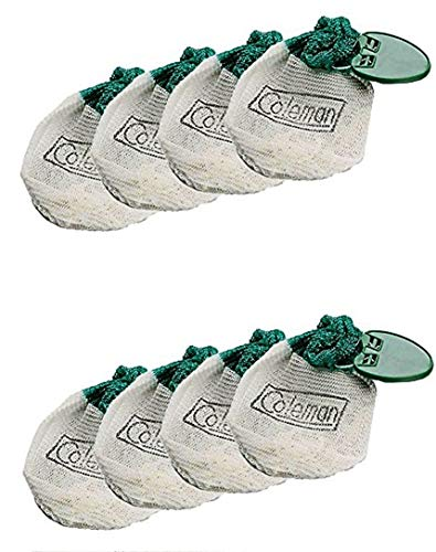Coleman 21 Insta-Clip Sock Tab Mantles - 8 Pack