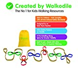 Grab & Go (12 bambini) - Corda da Passeggio per Bambini, Redini per Bambini con Guida Grat...