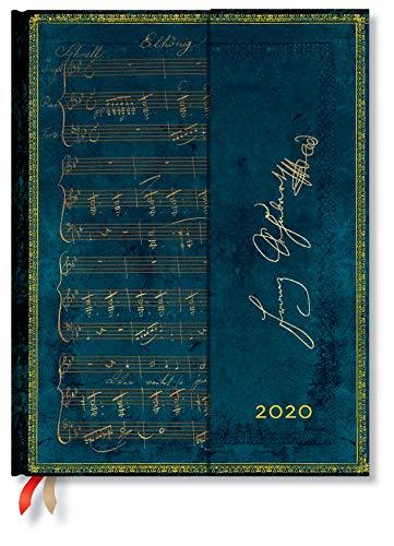 Paperblanks 12-Monatskalender 2020 Schubert, Erlkönig | Vertikal | Ultra (180 × 230 mm)