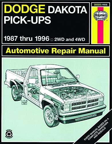 Dodge Dakota Pick-up (1987-1996) Haynes Repair Manual (USA)
