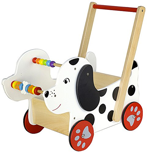 Viga Toys - 50290 - Véhicule Pour Enfant - Chariot À Pousser - Chien