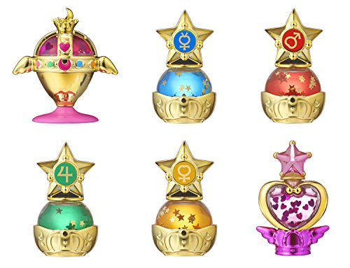Sailor Moon Prism Power Dome ~ Water Globe Collection ~ Complete set of 6