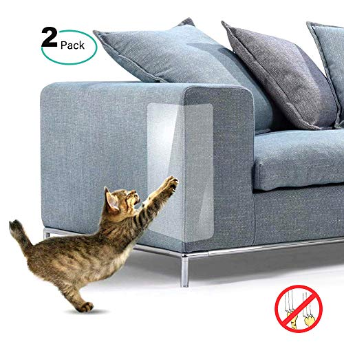 Aunmas Anti-kras sticker bescherming zelfklevende bescherming meubels kat krasbescherming mat voor bank tafel set 2 stuks