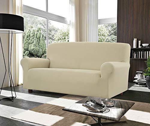 Banzaii Funda Sofa 1 Plaza Leche – Elastica Impermeable – Extensible de 85 a 100 cm - Made in Italy