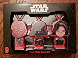McDonald's Exclusive Star Wars Dark Side Saga Set (of three DARTH VADER EMPEROR DARTH MAUL) Backpack Clips