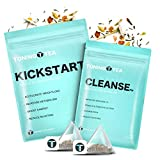 14 Day Detox Kit - Premium Fat Burning Weight Loss Slimming Tea, 1 Kickstart Tea (14 Bags) 1 Cleanse Tea (7 Bags), Cleanse Slim Tea Reduces Bloating & Helps Your Body Stay Regular