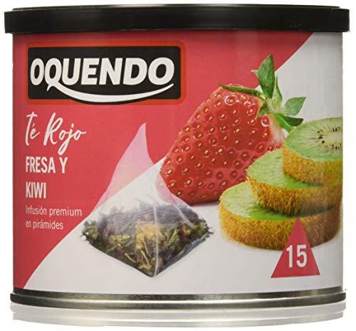 Oquendo - Té rojo fresas y kiwi - 1 de 30 gr