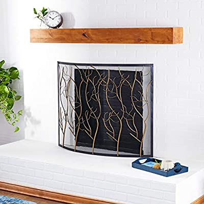 """Deco 79 Metal Fire Screen W, 33"""" H-44544, 39"""" W/33 H from Deco 79"""