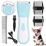 seanme Dog Clippers Washable, 2020 New Upgrade Dog Grooming Clippers Kit with...