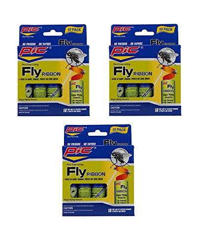 Pic FR10B Sticky Fly Ribbons (Pack of 30)