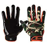 Cutters Game Day Receiver Glvs Fade Adult S/M, Black Fade