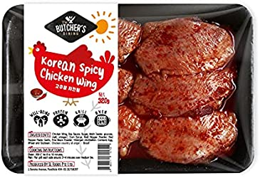 The Butcher's Dining Korean Spicy Chicken Wing, 320g - Chilled
