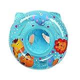 Binghai - Anillo de flotación de natación para bebés con asiento flotante PVC para niños pequeños de 6 meses a 36 meses para niños