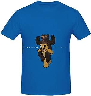 Fall Out Boy Folie A Deux Men Crew Neck Cool Shirt Blue