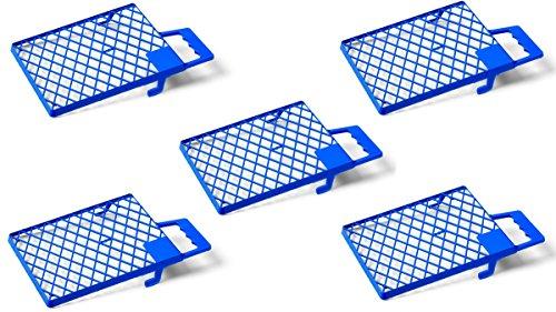 Schuller Eh\'klar 40431 Abstreifgitter Blau 5 Stück, 27x29cm