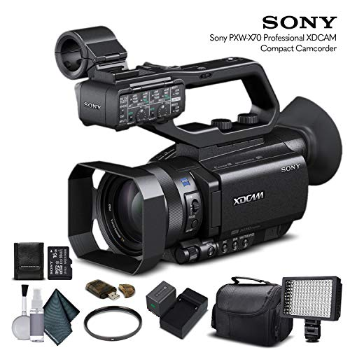 Sony PXW-X70 Professional XDCAM Compact Camcorder (PXW-X70) with 16GB Memory Card, Extra...