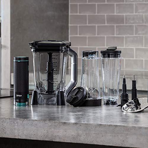 Ninja Blender Smart Screen Kitchen System with FreshVac Technology, CT670UKV, Black, Plastic & Metal 1100 W, 2.1 liters
