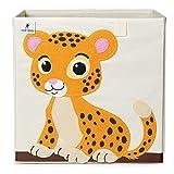 Caja de almacenamiento para niños I Caja de juguetes para habitación infantil (33 x 33 x 33 cm) para almacenamiento en estantería Kallax I Caja plegable de almacenamiento para juguetes infantiles