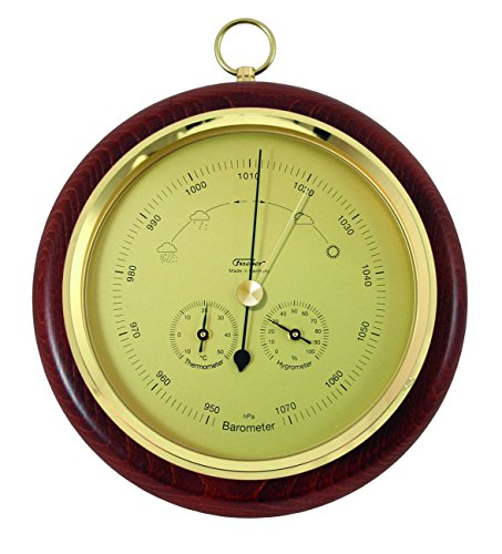 Fischer Barometer, Messing, 110 x 84 mm