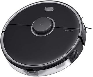 Roborock S5 MAX Robot Aspirador Negro Robot Aspirador con Tanque de Agua El?ctrico, Zonas de Limpieza, Navegaci?n con L?ser y Limpieza Selectiva de la Habitaci?n, para Pelo de Animales y Suelos Duros