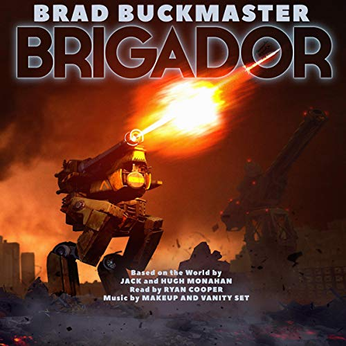 Brigador audiobook cover art