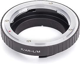Pixco adattatore di montaggio anello adattatore obiettivo per Konica AR Lens vite per fotocamera Leica M Leica M 220m9-p Leica M 240Monochrom M9m8.2M9M7M6M5M4m3( Konica–Leica M )