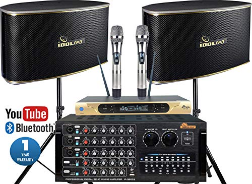 Learn More About Home Karaoke System 1300W Karaoke Mixing Amplifier With Optical Input/HDMI/Recordin...