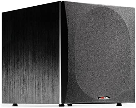 "Polk Audio PSW505 12"" Powered Subwoofer - High Precision Bass with Extreme Power & Wide Soundstage 
