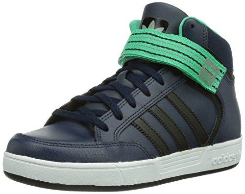 adidas Jungen Varial Mid J High-Top, Blau (Collegiate Navy/Black 1 / Solo Mint F14-St), 33 EU