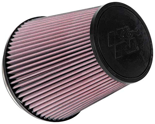 K&N Universal Clamp-On Air Filter: High Performance, Premium, Washable, Replacement Engine Filter: Flange Diameter: 6 In, Filter Height: 7.5 In, Flange Length: 1 In, Shape: Round Tapered, RU-1041