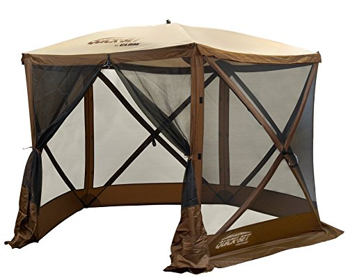 Quick Set 12875 Venture Screen Shelter, Brown/Tan