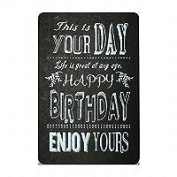 レタープレス ポストカード ブラック バースデイ B ハイムインダストリア HEIM INDUSTRIA LETTER PRESS POSTCARD black birthday B