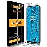 [3Pack] UniqueMe Schutzfolie für Oneplus 8T Panzerglas,[Maximale Reichweite][Blasenfrei] Bildschirmschutz für Oneplus 8T, HD klar Folie gehärtetes Glas