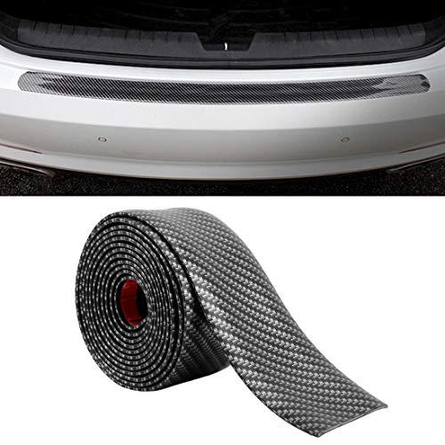 WSJIN Car Accessories Universal Car Door Threshold Decoration Strip Decorative Sticker, Size : 10CM x 3M(Black) (Color : Black)
